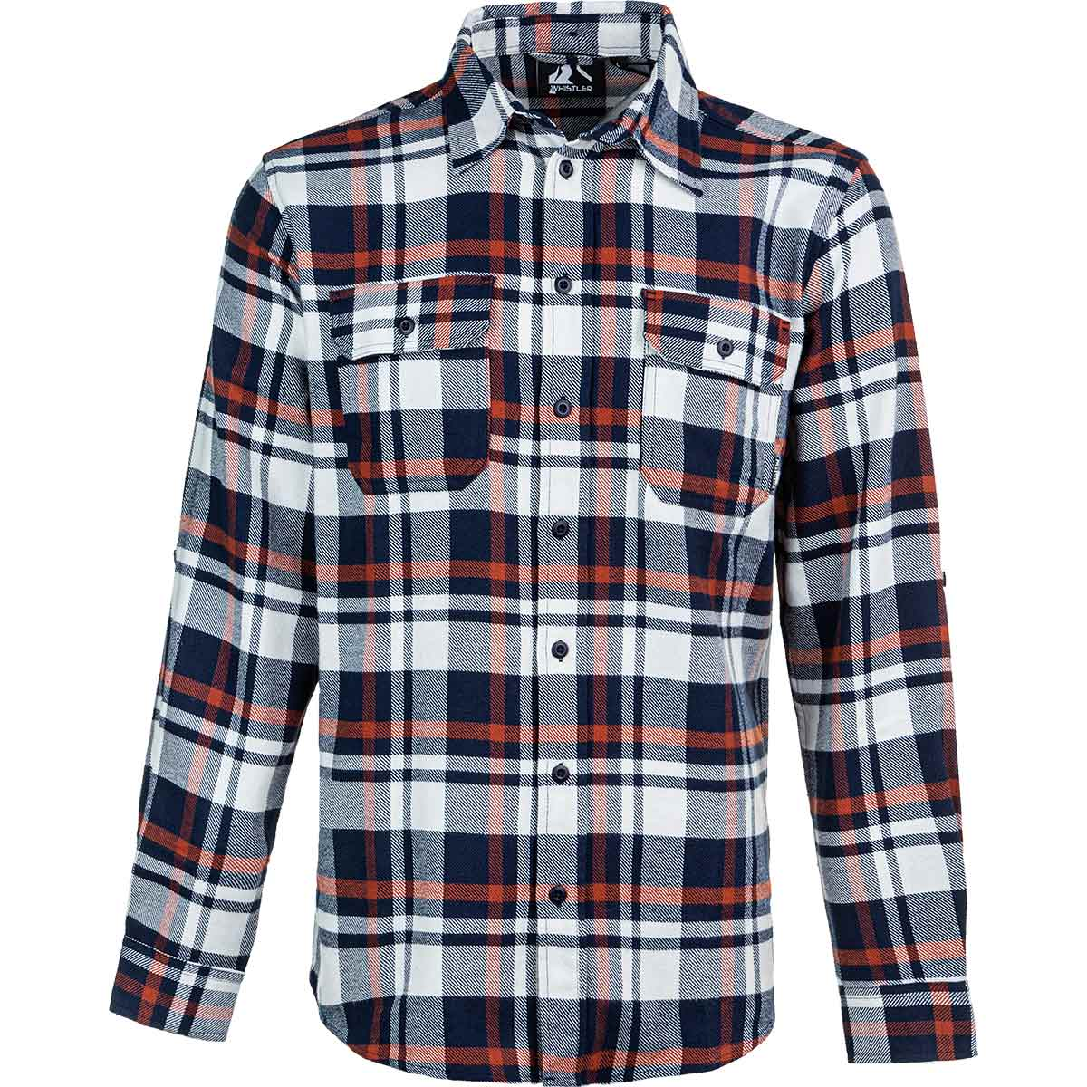 Whistler Flannel Checked Shirt, Herre