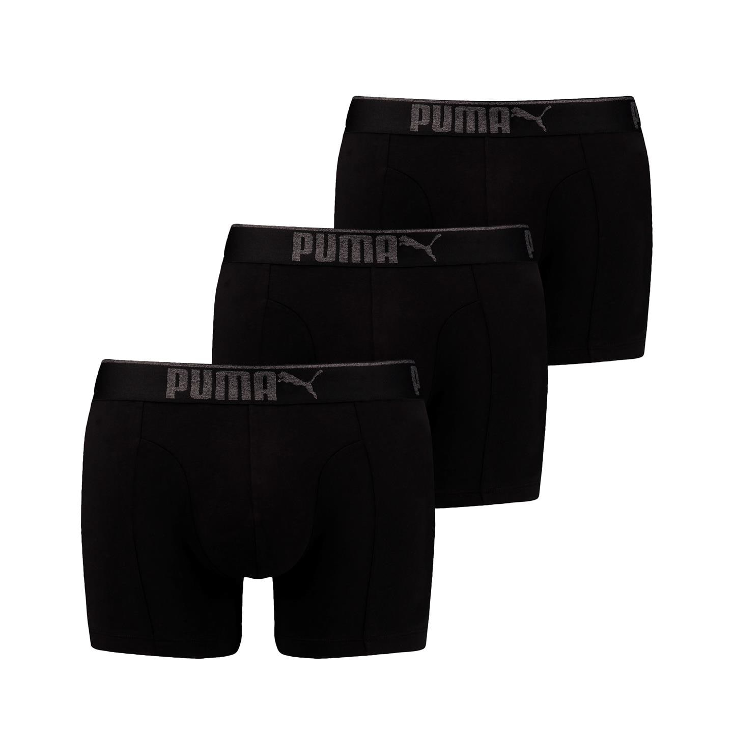 Puma 3pk Sueded Cotton Boxer