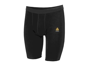 Aclima WarmWool Long Shorts, M's, Jet Black