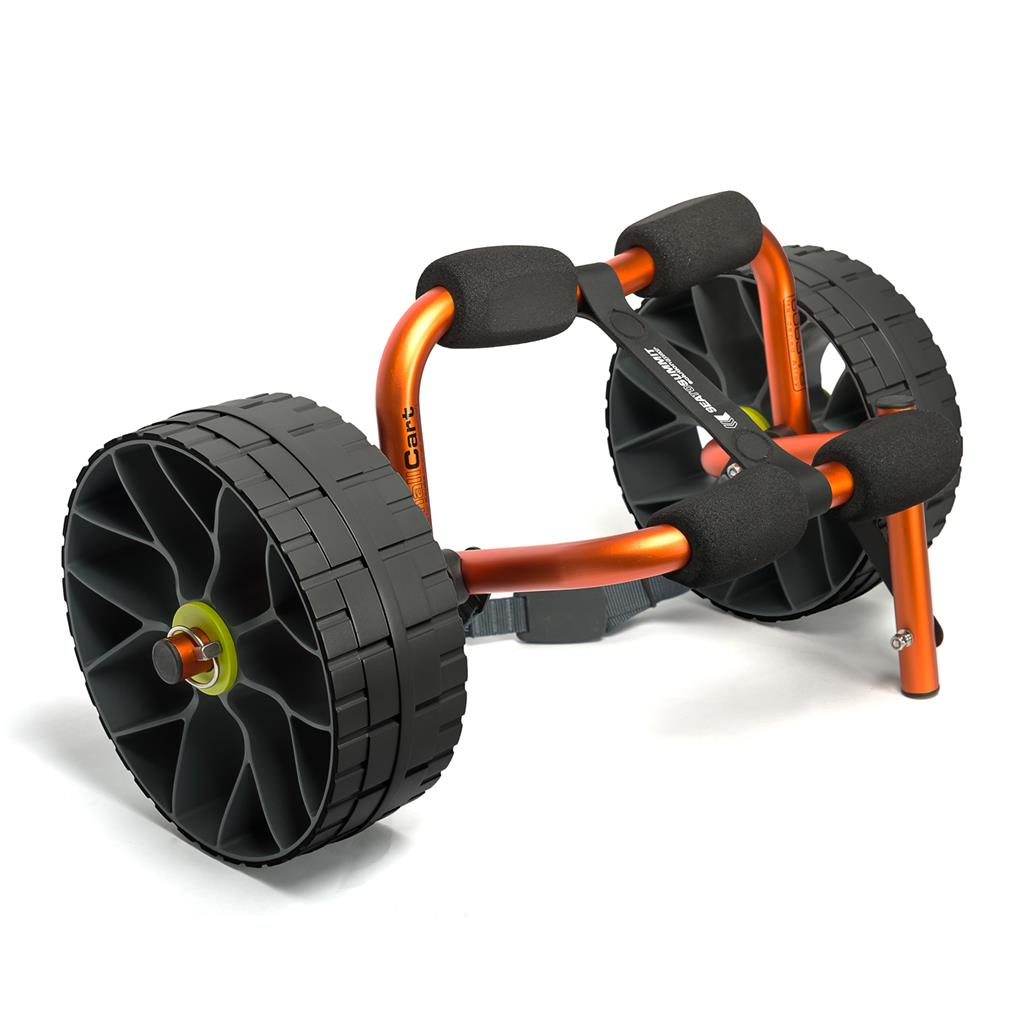 STS SG Cart Solid Wheels, S, kajakktralle