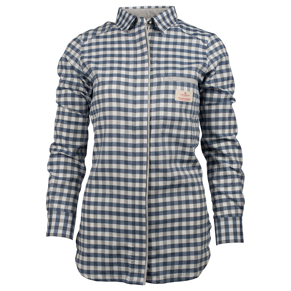 Amundsen Sports Vagabond Shirt W's, Chequered Blue