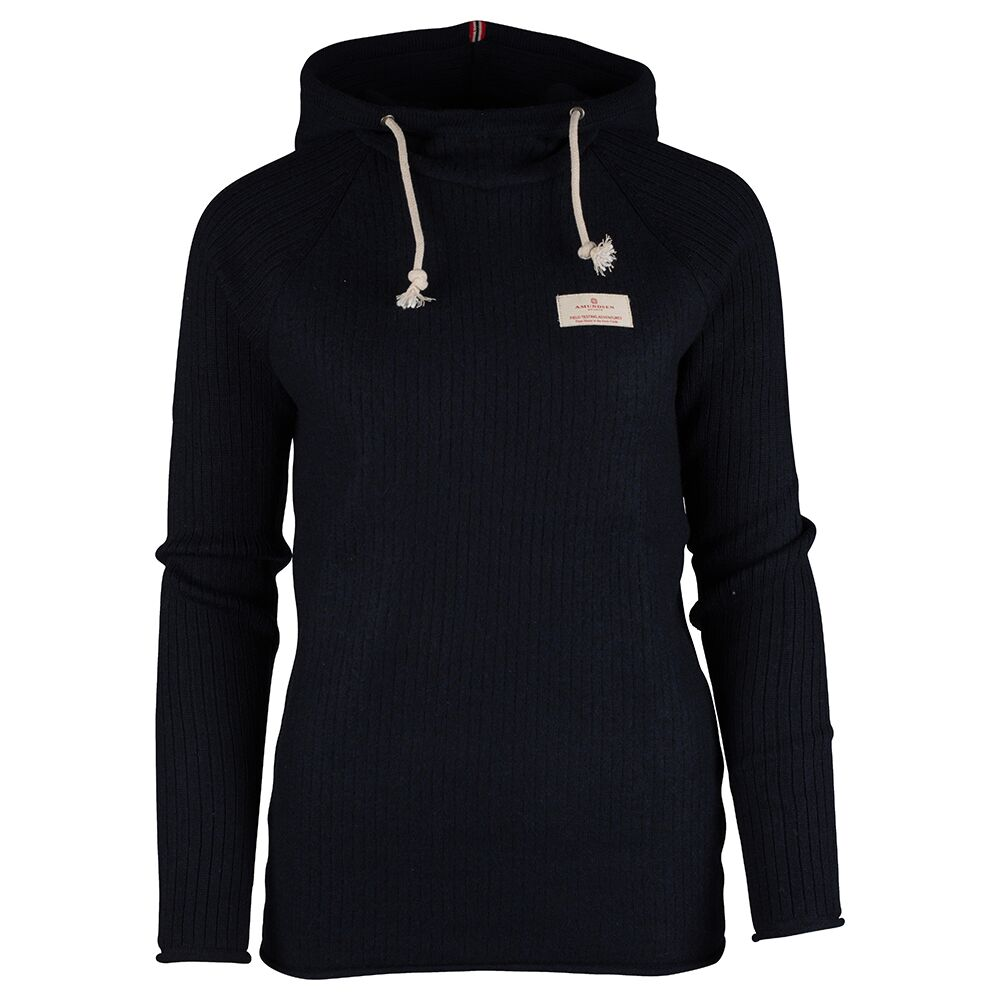 Amundsen Sports Boiled Hoodie Ribbed, W's