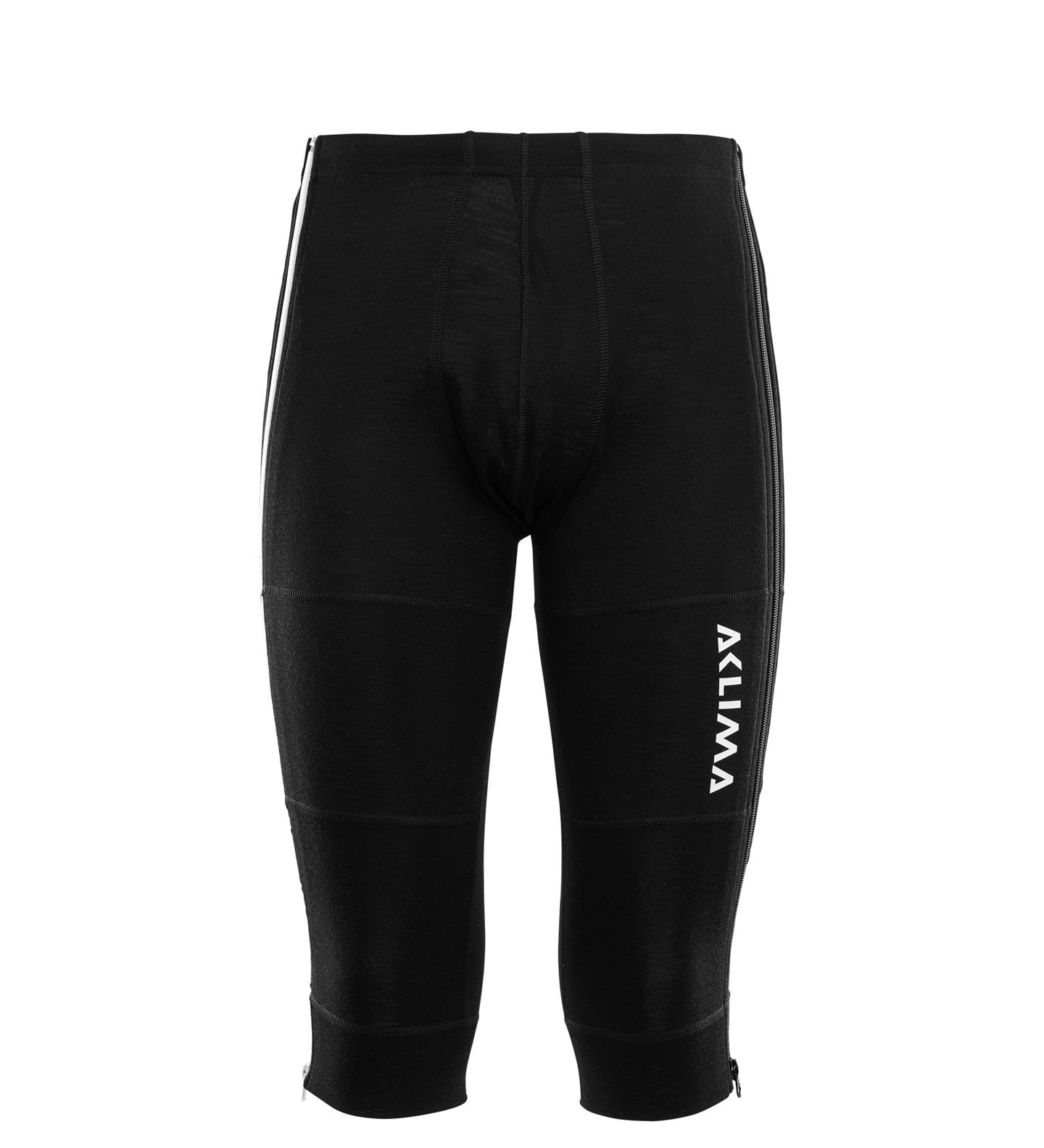 Aclima WarmWool 3/4 Zip Longs M's