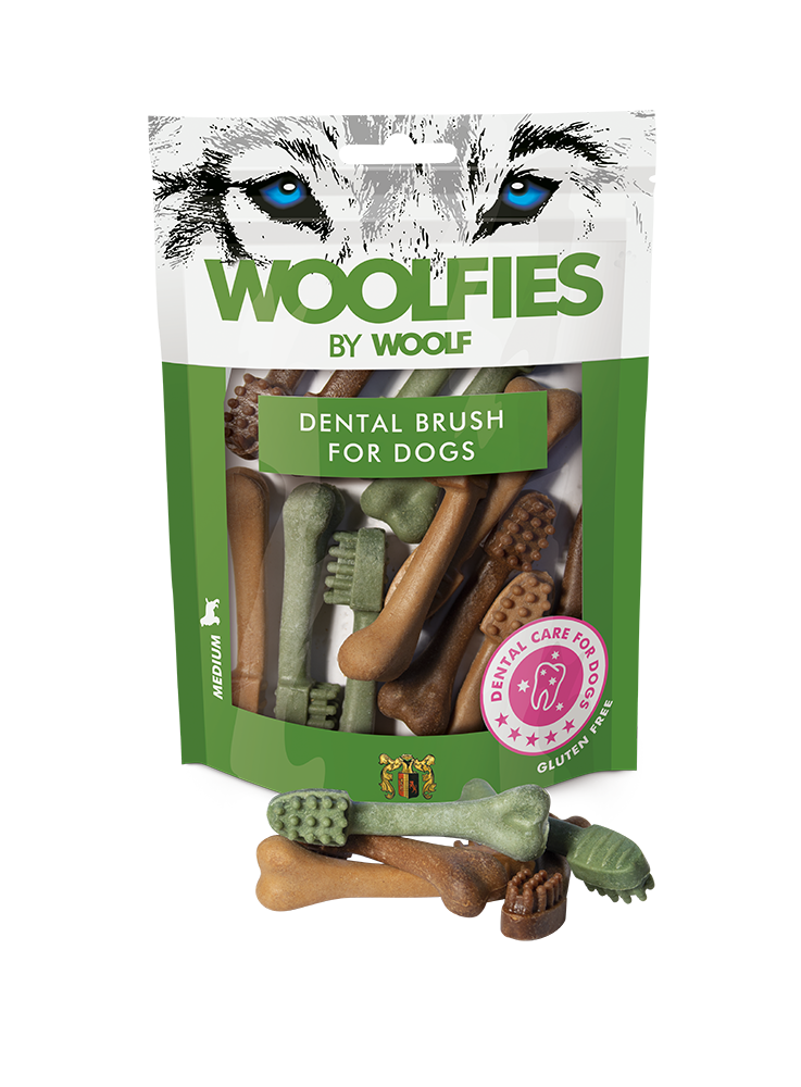 Woolfies Small Dental Brush For Dogs