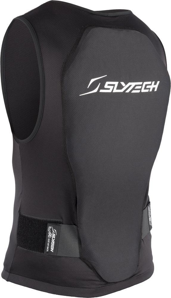 Slytech Back Protector Flexi Vest Zip, XT Snow
