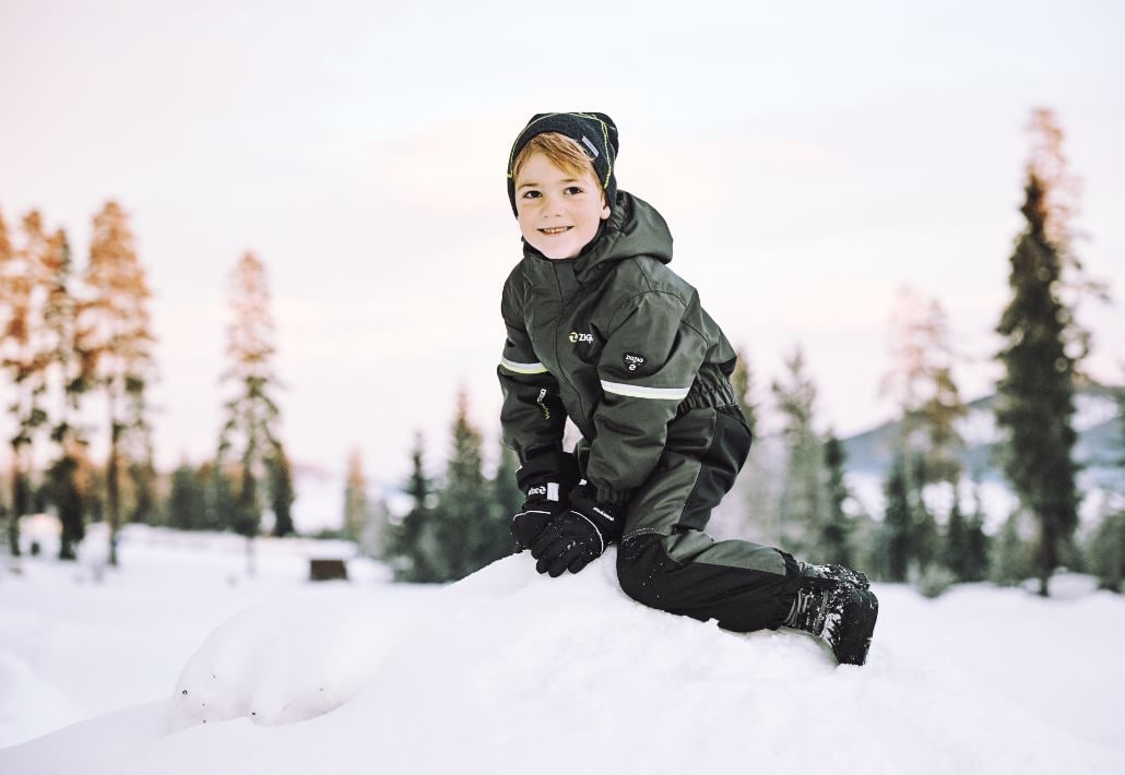 ZigZag Maste vinterdress W-PRO, Barn