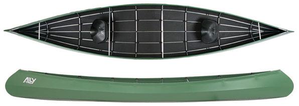 ALLY 16,5' DR kano, Grønn