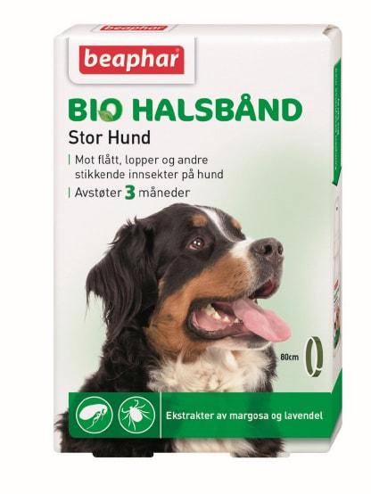 Beaphar Biohalsbånd, stor hund
