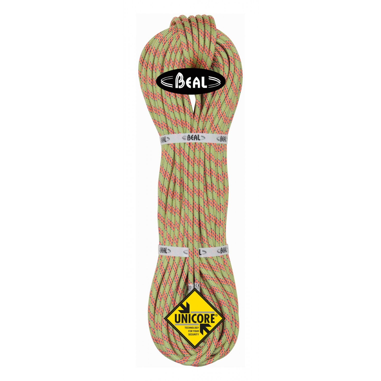 BEAL Ice Line 8,1mm x  60m, GOLDEN DRY, Anis