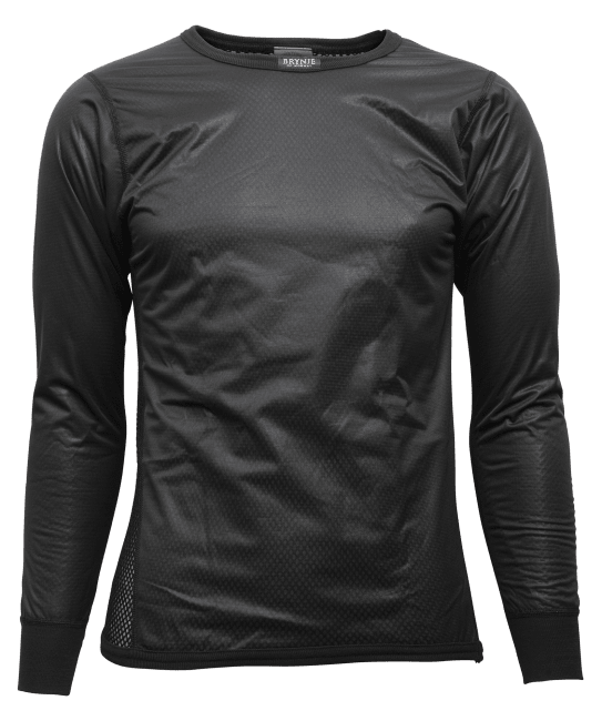 Brynje Shirt w/windcover front/front Sleeves