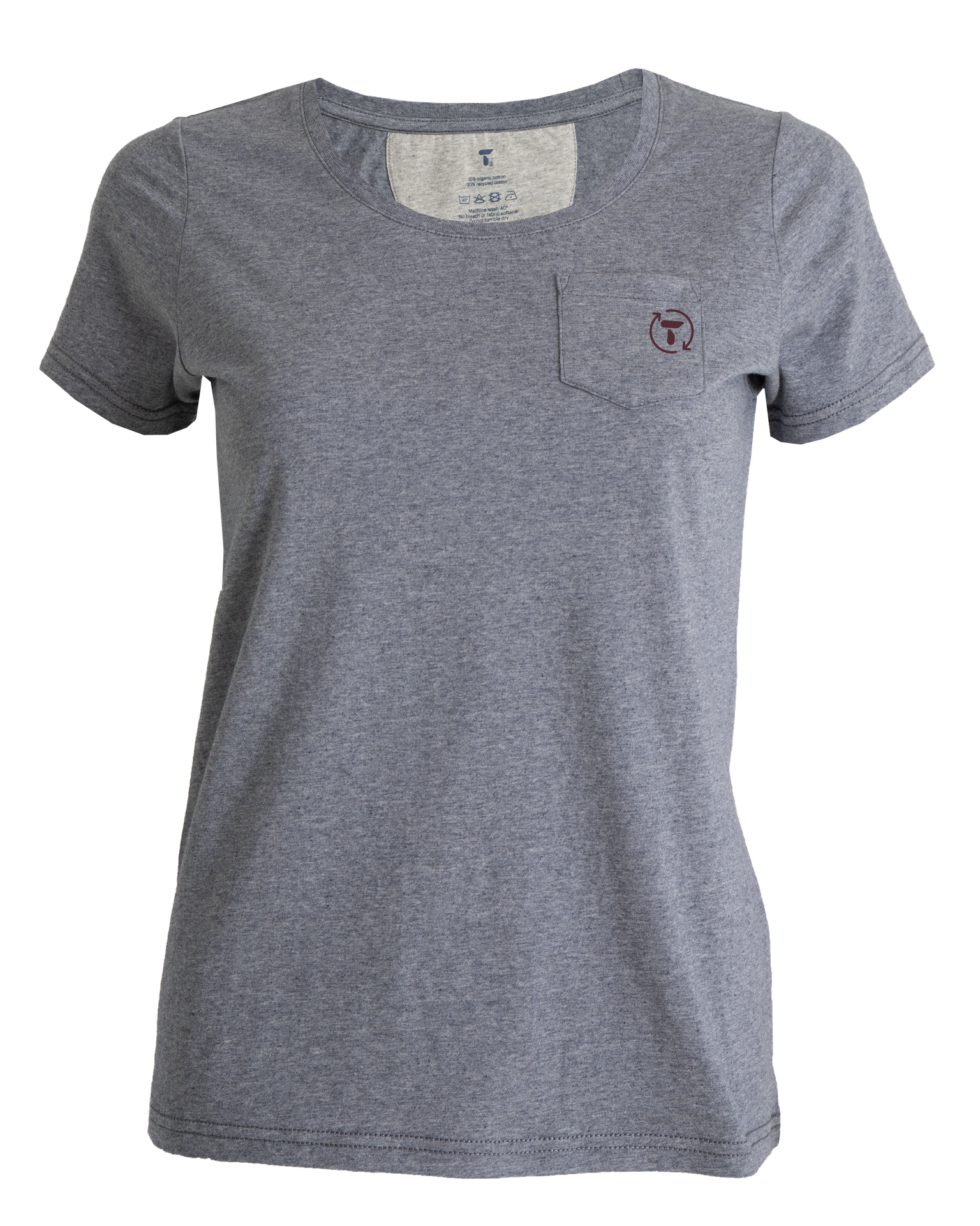 Tufte Womens Eco Blend Green City Tee